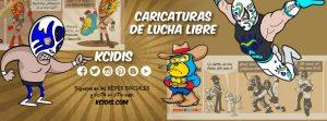 caricaturas de lucha libre por kcidis