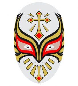 lucha libre máscara de caristico mask por kcidis