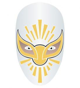 lucha libre máscara de místico mask por kcidis