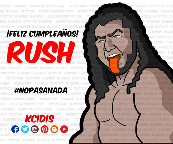 dibujo del luchador rush